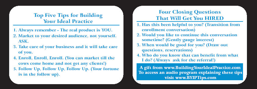 Our Top Tips for Building and Marketing Your Ideal Private Practice
